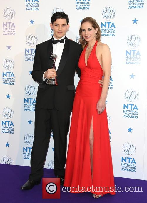 Colin Morgan and Darcey Bussell