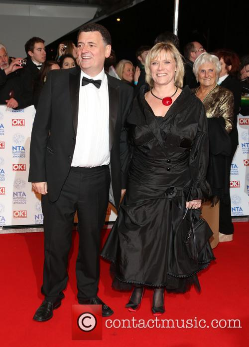 Steven Moffat and Wife