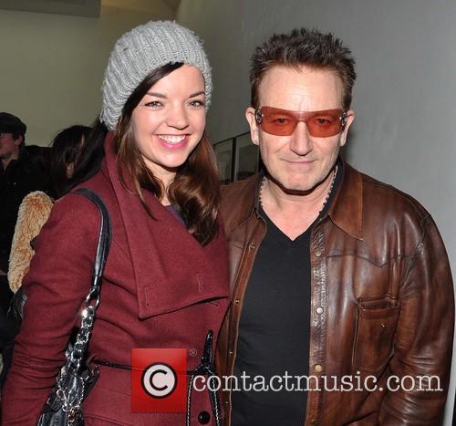 Jennifer O'brien and Bono 1