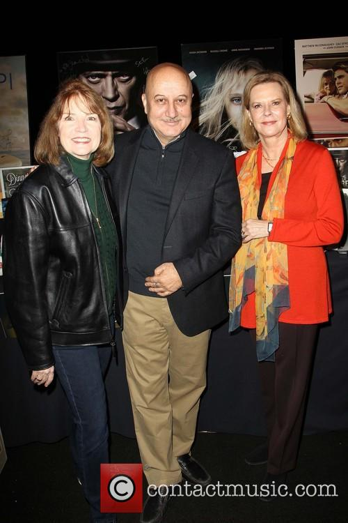 Sag Awards Producer Kathy Connell Actor, Anupam Kher and President Actress Jobeth Williams