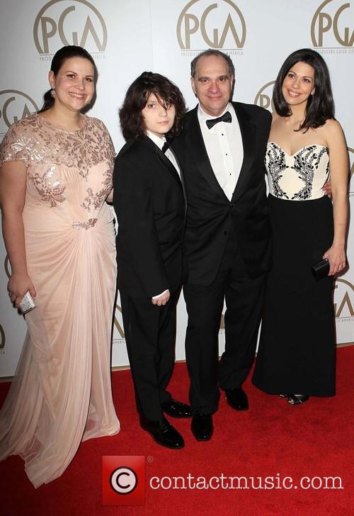 Max Weinstein, Bob Weinstein and Annie Clayton 1