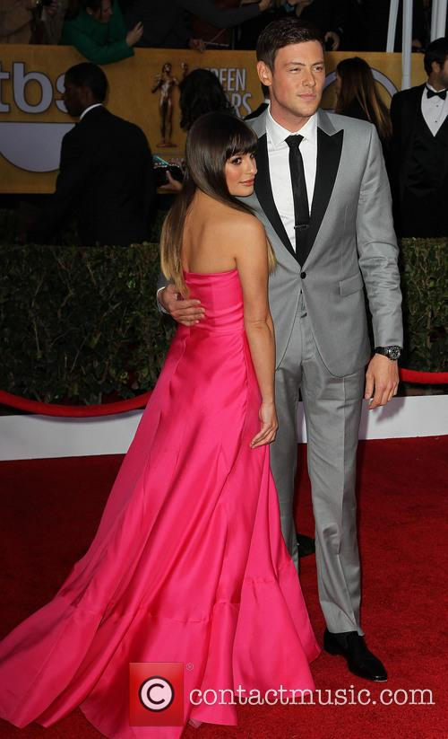 Lea Michele and Cory Monteith 1