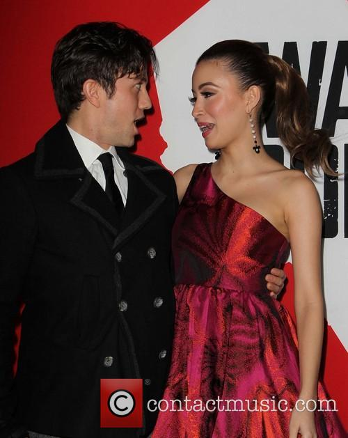 Jackson Rathbone and Christian Serratos