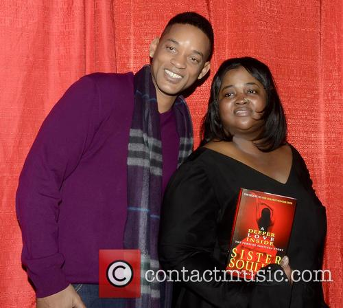 Will Smith and Sister Souljah Aka Lisa Williamson 1