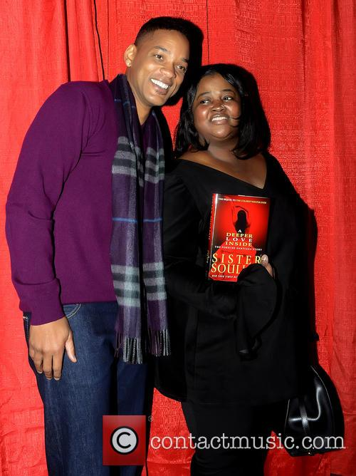 Will Smith and Sister Souljah Aka Lisa Williamson 6