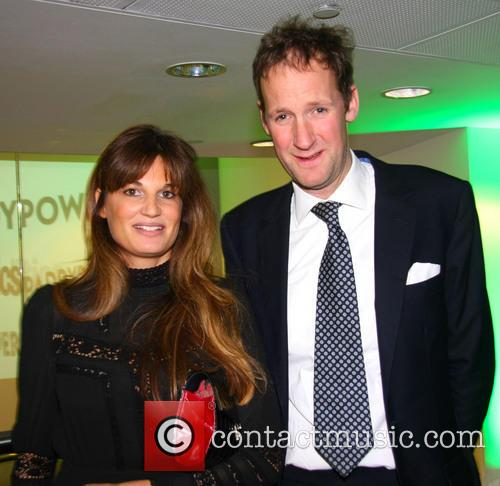 Harry Stourton and Jemima Khan