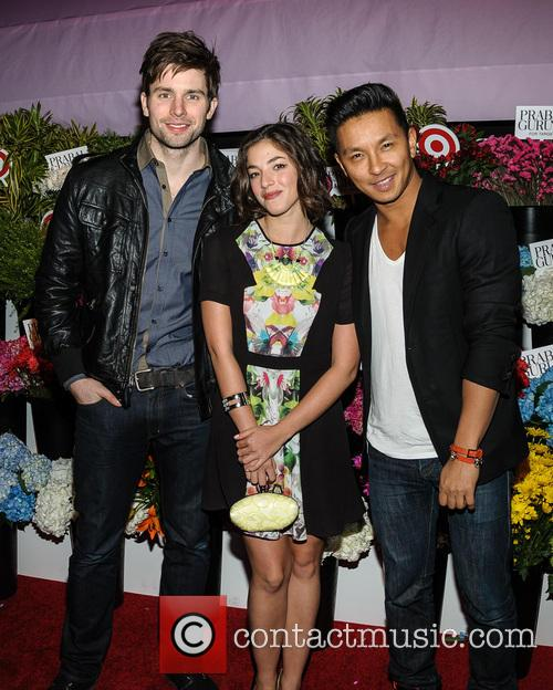 Chris Conroy, Olivia Thirlby and Prabal Gurung