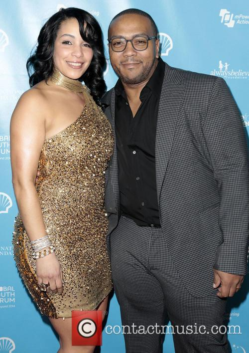 Timbaland, Timothy Mosley and Wife Monique Mosley 4