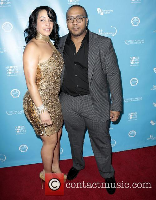 Timbaland, Timothy Mosley and Wife Monique Mosley 5