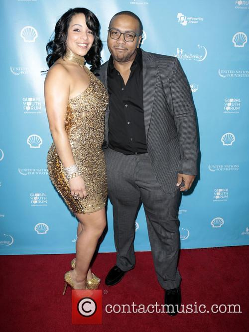 Timbaland, Timothy Mosley and Wife Monique Mosley 6