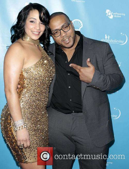 Timbaland, Timothy Mosley and Wife Monique Mosley