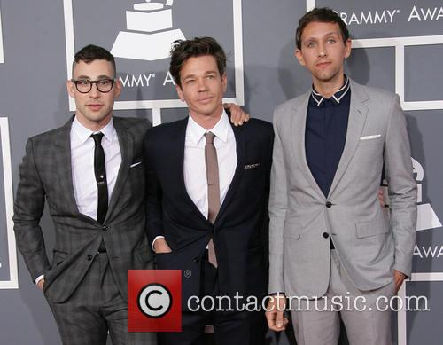 Jack Antonoff, Nate Ruess and And Andrew Dost Of Fun. 3