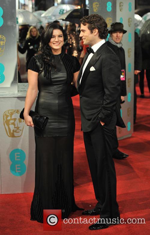 Henry Cavill and Gina Carano 9