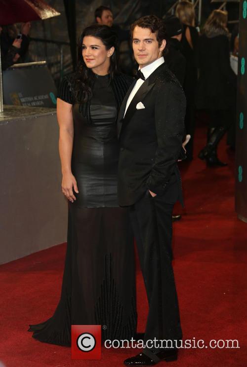 Henry Cavill and Gina Carano 11