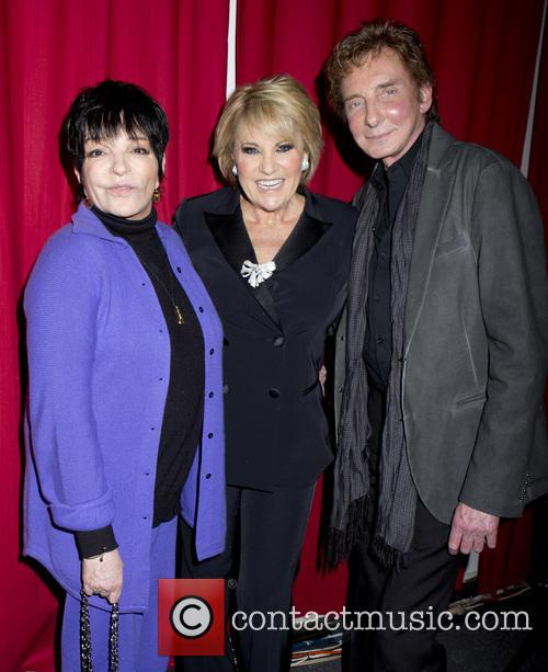Liza Minnelli, Barry Manilow and Lorna Luft