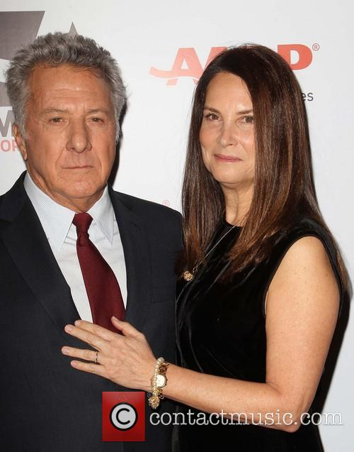 Dustin Hoffman and Lisa Hoffman 6