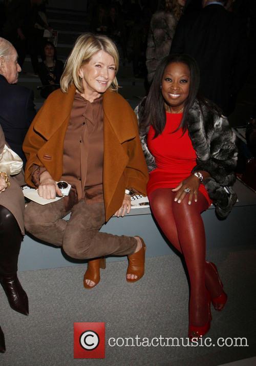 Martha Stewart and Star Jones