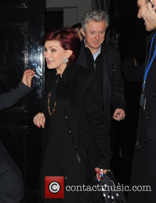 Sharon Osbourne and Louis Walsh 2