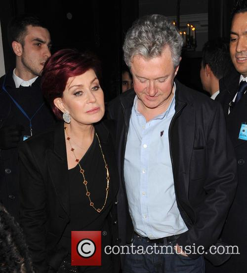 Sharon Osbourne and Louis Walsh 1