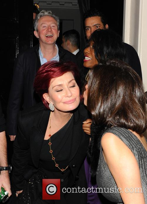Sharon Osbourne, Simon Cowell, Louis Walsh, Sinitta and Mezhgan Hussainy 3