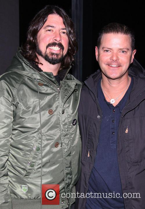 Dave Grohl and Clarke Thorell 8