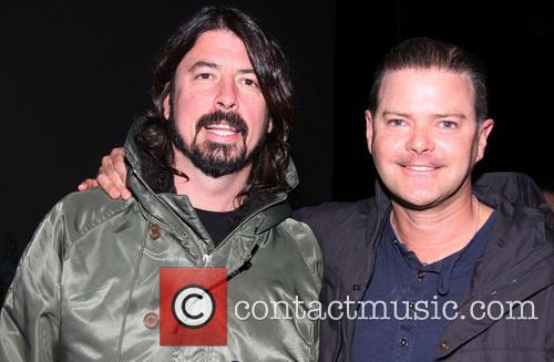 Dave Grohl and Clarke Thorell 9