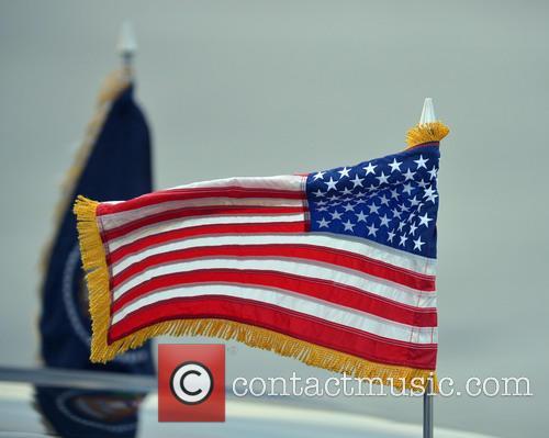 Barack Obama and The Presidential Flag