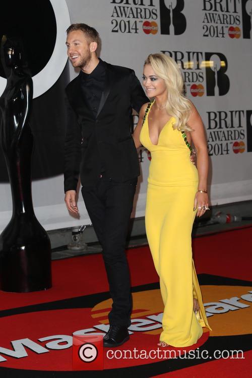 Calvin Harris and Rita Ora 1
