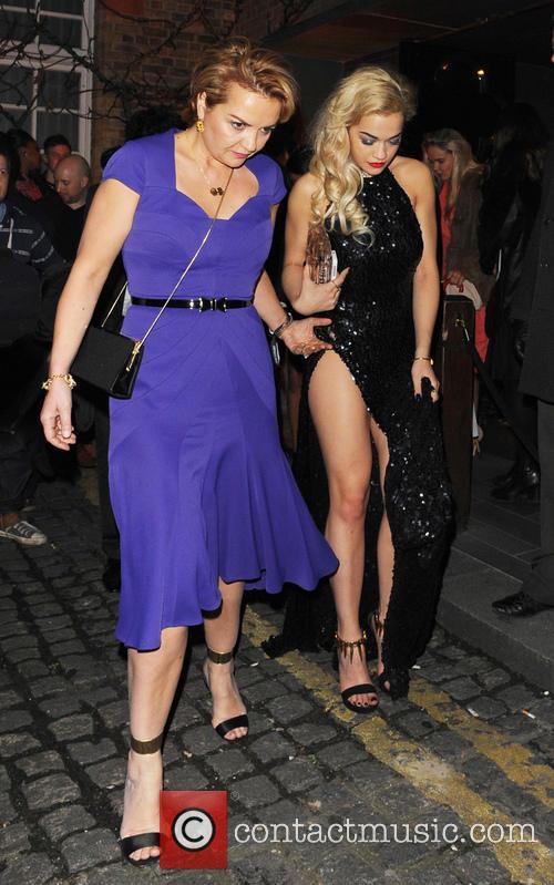 Rita Ora and Vera Sahatciu