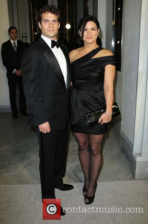 Henry Cavill and Gina Carano 3