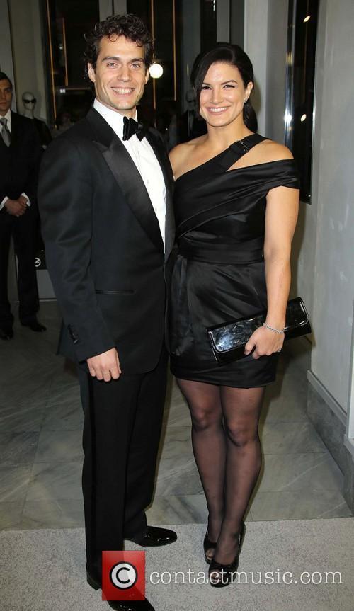 Henry Cavill and Gina Carano 5