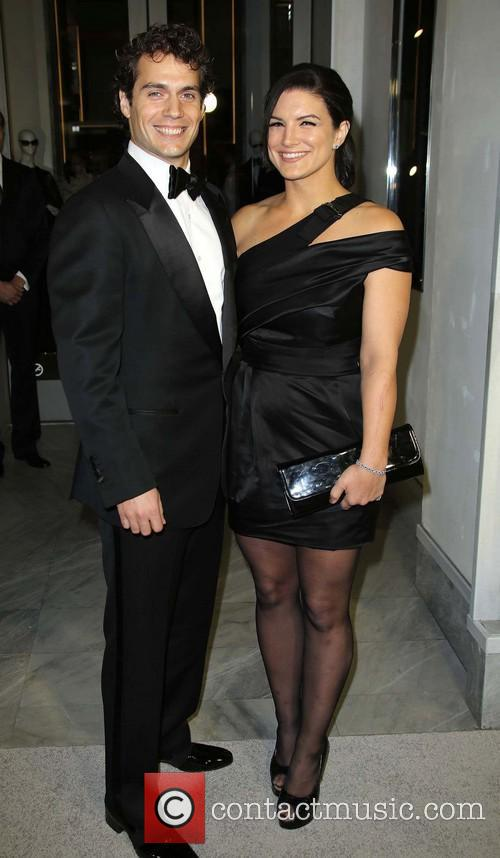 Henry Cavill and Gina Carano 7