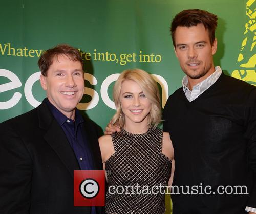 Nicolas Sparks, Josh Duhamel and Julianne Hough 3