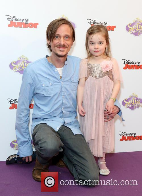 Mackenzie Crook and Daughter Scout Crook 2