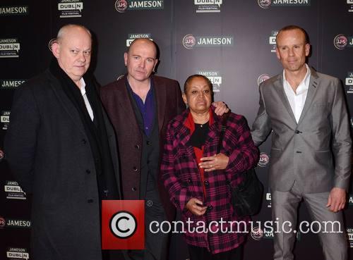Brian Maguire, Gavin Friday, Elia Escobedo Garcia and Mark Mcloughl 2