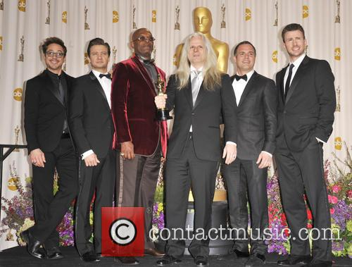 Robert Downey Jr., Jeremy Renner, Samuel L. Jackson, Claudio Miranda, Mark Ruffalo and Chris Evans 4