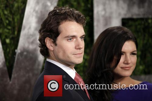Henry Cavill and Gina Carano 2