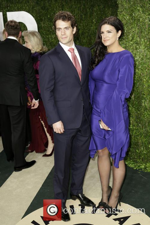 Henry Cavill and Gina Carano 4