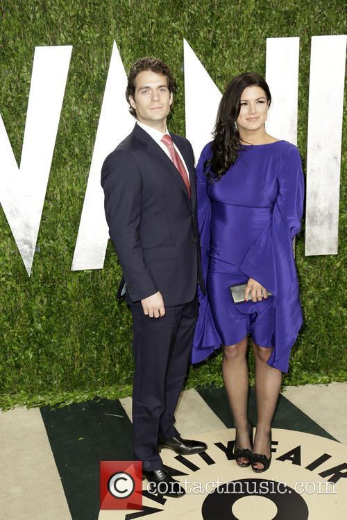 Henry Cavill and Gina Carano 6