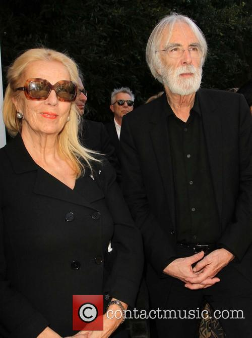 Margaret Menegoz and Michael Haneke 2
