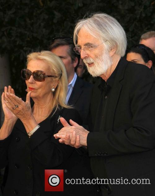 Margaret Menegoz and Michael Haneke 5
