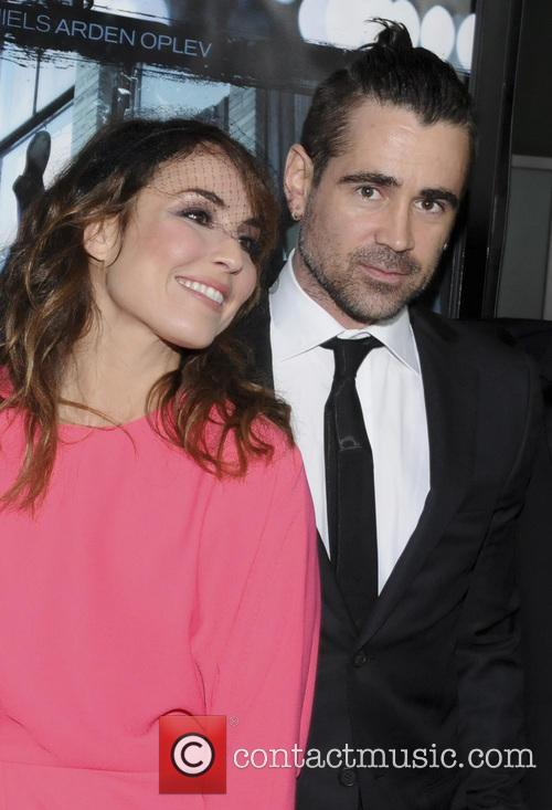 Noomi Rapace and Colin Farrell