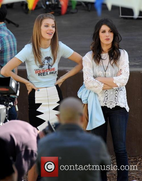 Annalynne Mccord and Shenae Grimes