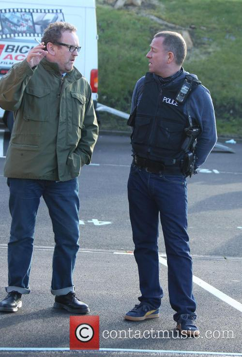 Colm Meaney and Sean Pertwee
