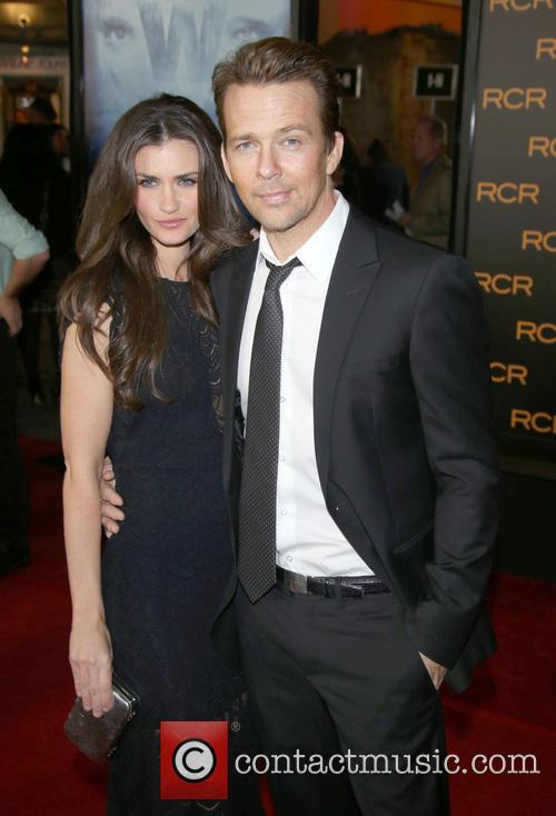 Sean Patrick Flanery and His Wife Lauren Flanery