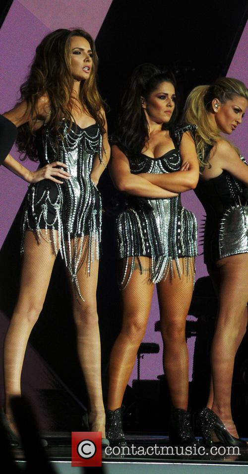 Girls Aloud, Nadine Coyle, Cheryl Cole and Sarah Harding 9
