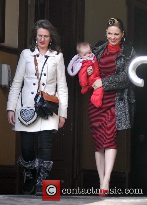 Imelda May and Daughter Violet Kathleen Higham