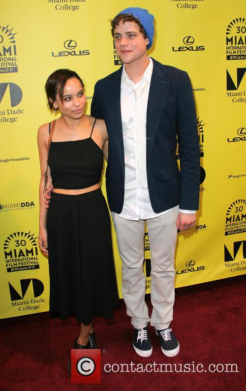 Zoe Kravitz and Douglas Smith