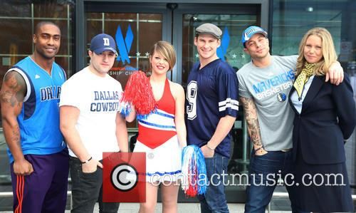 Simon Webbe, Antony Costa, Lee Ryan and Duncan James Of Blue 1