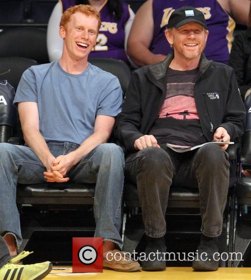 Ron Howard and Reed Cross